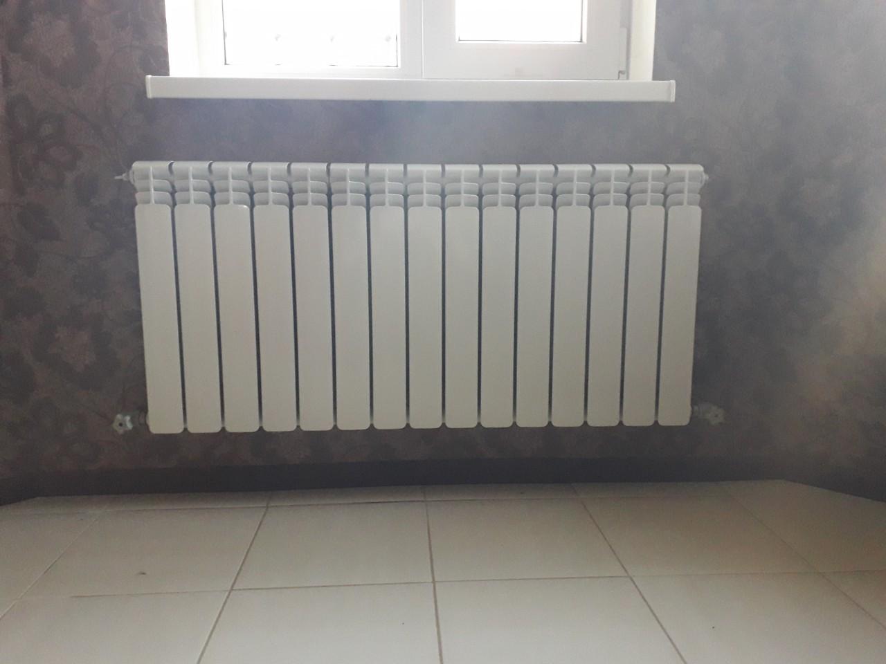 установка радиатора днепр